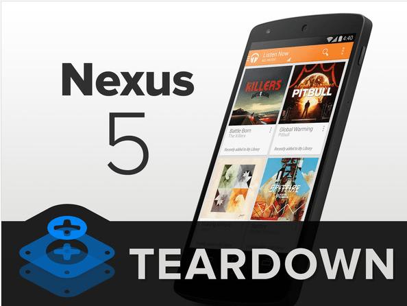 nexus5 - Teardown per il Nexus 5: facile da riparare ma con schermo fuso