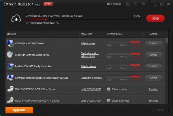 """ScreenShot304 600x403 - Aggiornare tutti i Driver PC in un """"botto"""" !"""