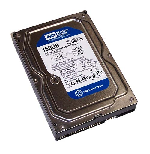 WD1600AAJB - Stop alla vendita di hard disk PATA per Western Digital