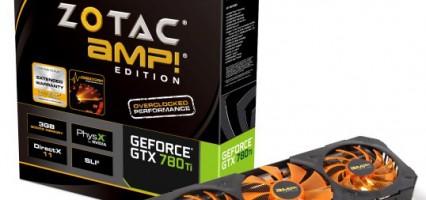 GeForce GTX 780Ti: disponibile la versione AMP! di Zotac