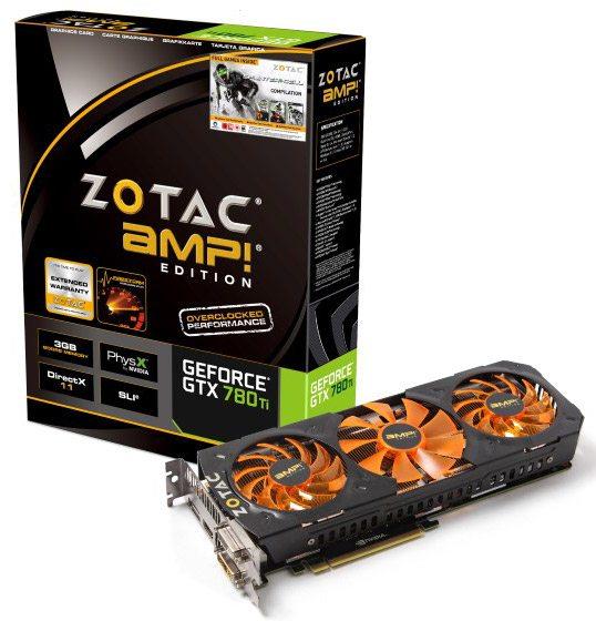 geforcegtx780ti zotac - GeForce GTX 780Ti: disponibile la versione AMP! di Zotac