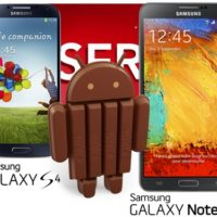 Android 4.4 KitKat in arrivo a Gennaio su Galaxy S4 e Note 3