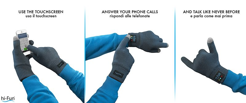 use - Recensione - Hi-Call Bluetooth Talking Glove: il guanto telefonico