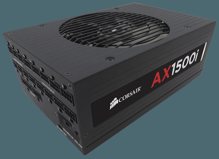 AX1500i FPO - Corsair annuncia AX1500i: PSU più efficiente e tecnologicamente avanzato al mondo