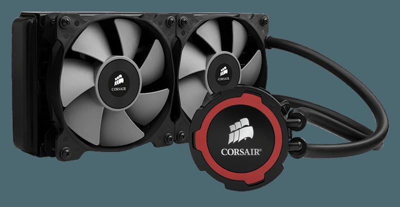 H105 ring red - Corsair annuncia il sistema di raffreddamento a liquido per CPU Hydro Series H105