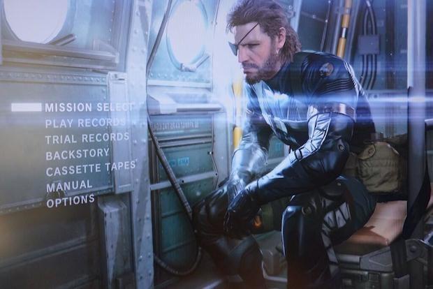 metal gear solid 5 menu - Metal Gear Solid 5: Ground Zeroes, ecco quanto durerà la campagna principale