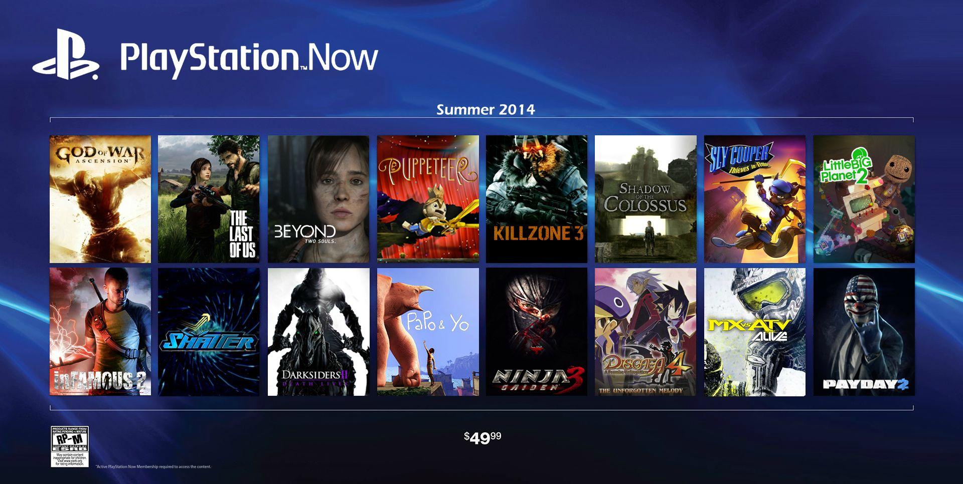 Playstation Now 2014 - Playstation Now: Reddit svela i titoli di lancio, ma sorge qualche dubbio