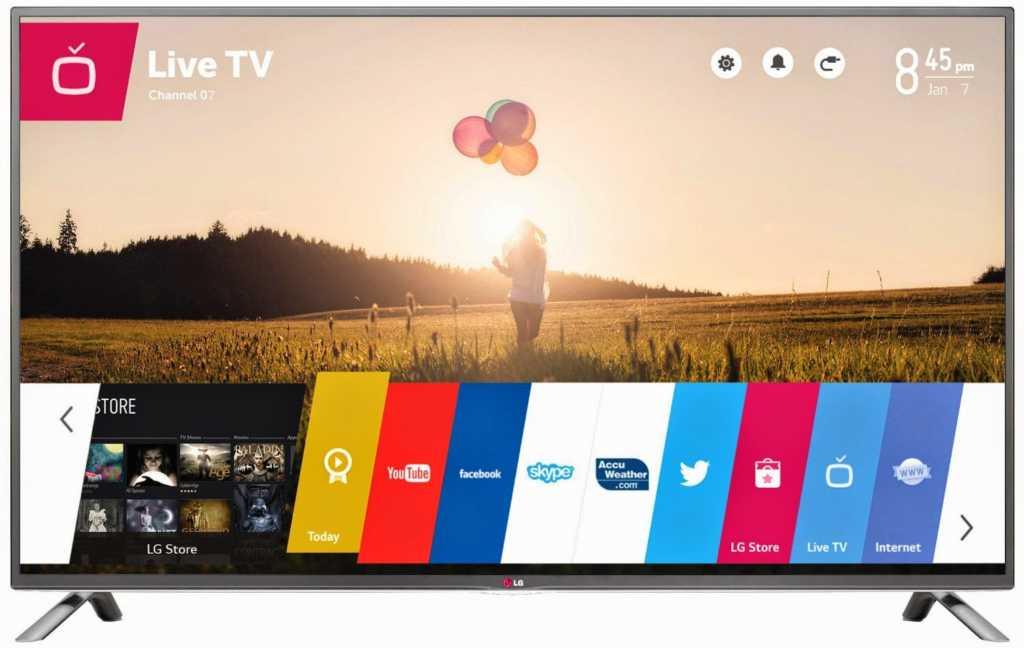 lgwebostvsmart1 1024x648 - Sbloccare/Attivare le App Mediaset Premium, Ray Replay e Infinity su Smart TV LG