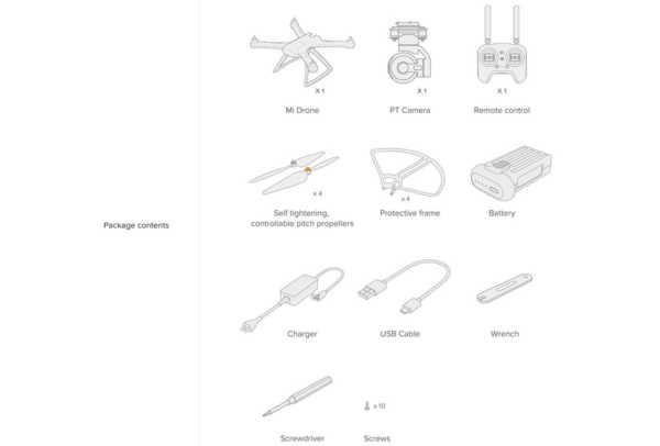 xiaomi mi drone 4k 3 600x406 - Il miglior drone? Xiaomi Mi Drone 4K: recensione e prova