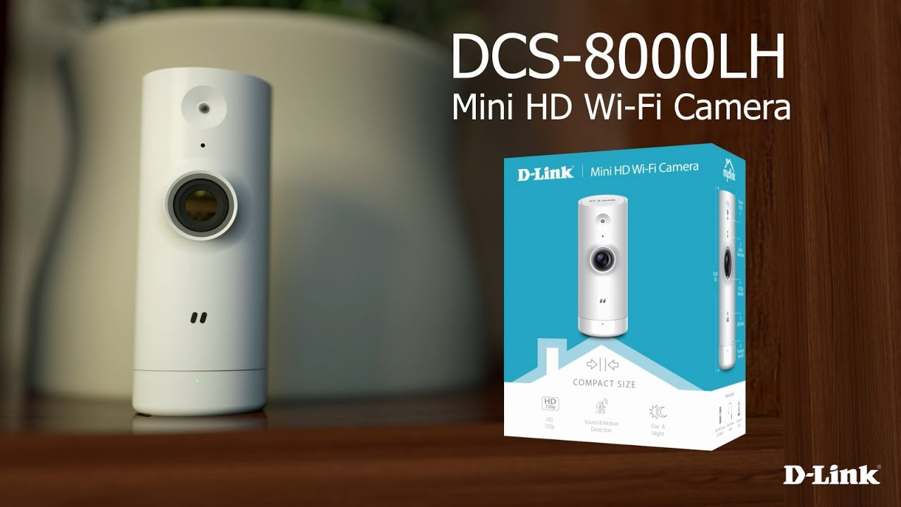 telecamera di sorveglianza 3 - La telecamera di sorveglianza per interni: D-Link DCS‑8000LH