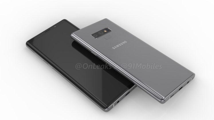Galaxy Note 9 5 747x420 - Galaxy Note 9: primi dettagli e immagini