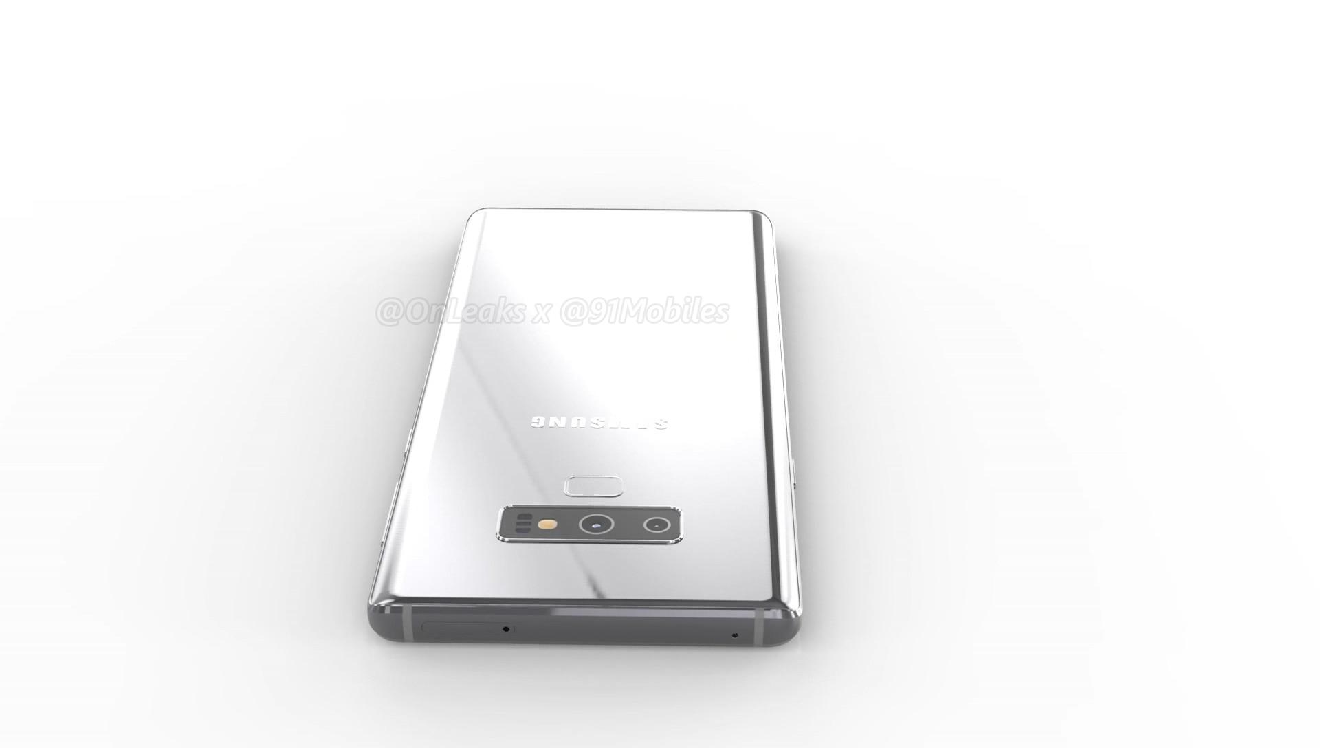 Galaxy Note 9 - Galaxy Note 9: primi dettagli e immagini